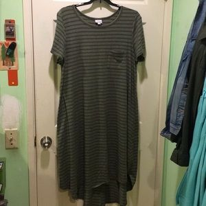 Stripe Carly dress